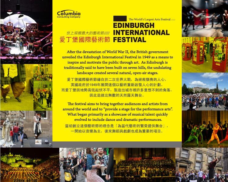 愛丁堡藝術節 Edinburgh International Festival