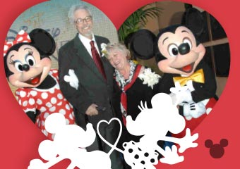米奇與米妮的配音.. The Voice Of Mickey Mouse Married ..
