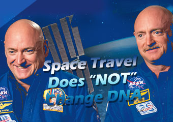 "外太空旅行不會改.. Space Travel Does ""NOT"" Change DNA"