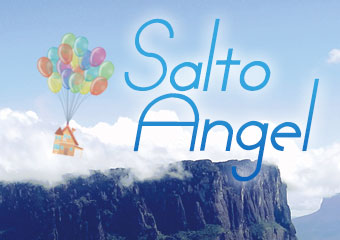 安赫爾瀑布 Disney Movie(Up)-Salto Ángel
