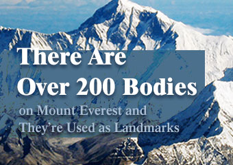 聖母峰有超過兩百.. There Are Over 200 Bodies on Mount..
